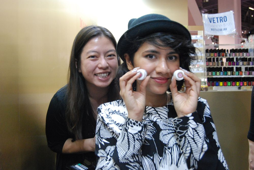 <p>NAILS' Kim Pham and Vetro's Fariha Ali</p>