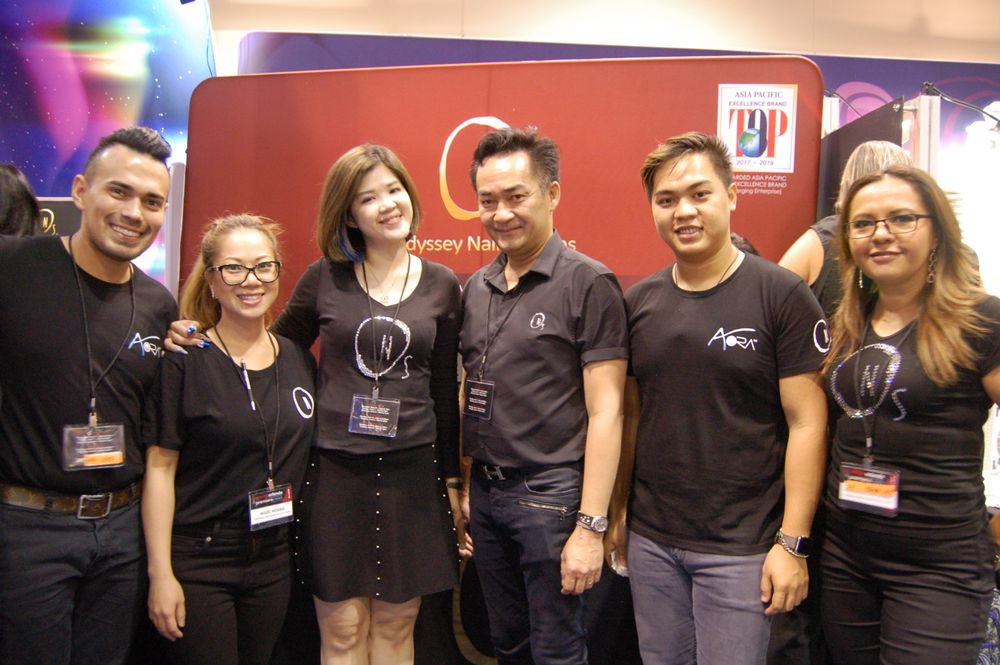 <p>The Odyssey team.</p>