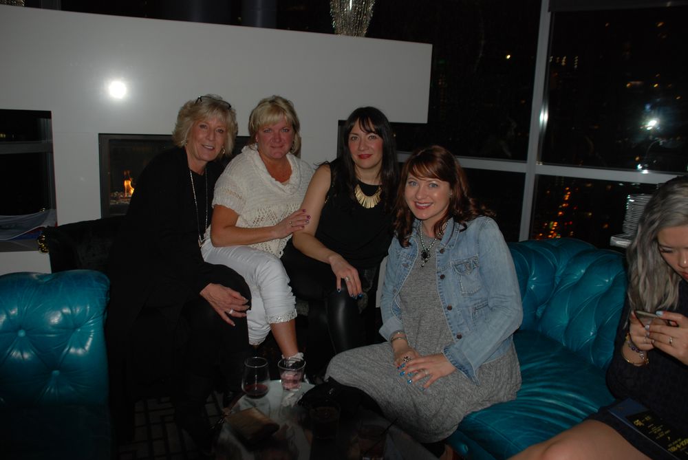 <p>Associated Nail Professional's Katie Armitage and friends</p>