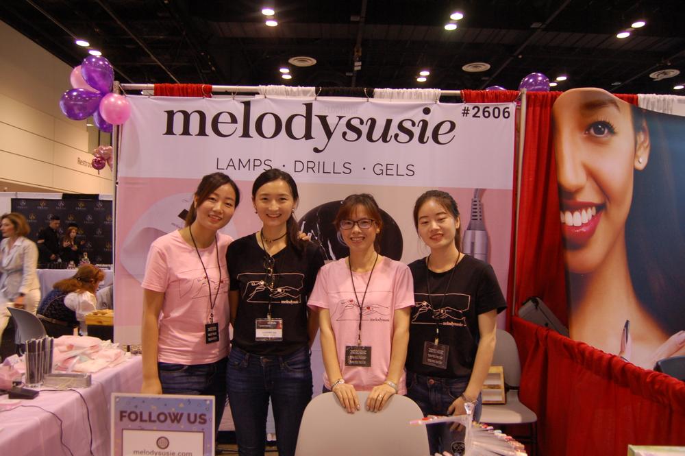 <p>The MelodySusie team.</p>