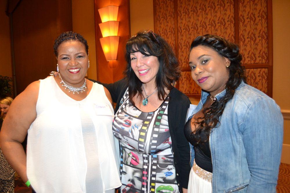 <p>Sharon George, Athena Elliott, Simone Nunes</p>