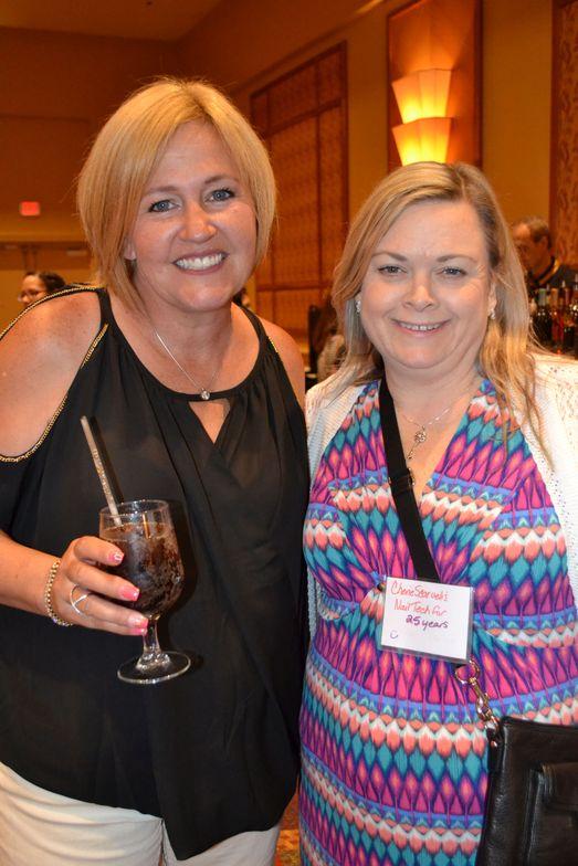 <p>Cherie Scarvelis, Vicki Jensen</p>