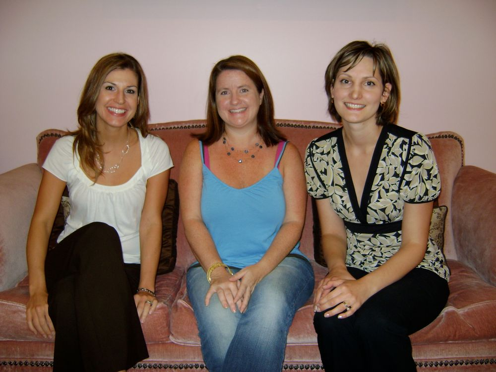 <p>With the lovely ladies at Embellish in Austin!</p>