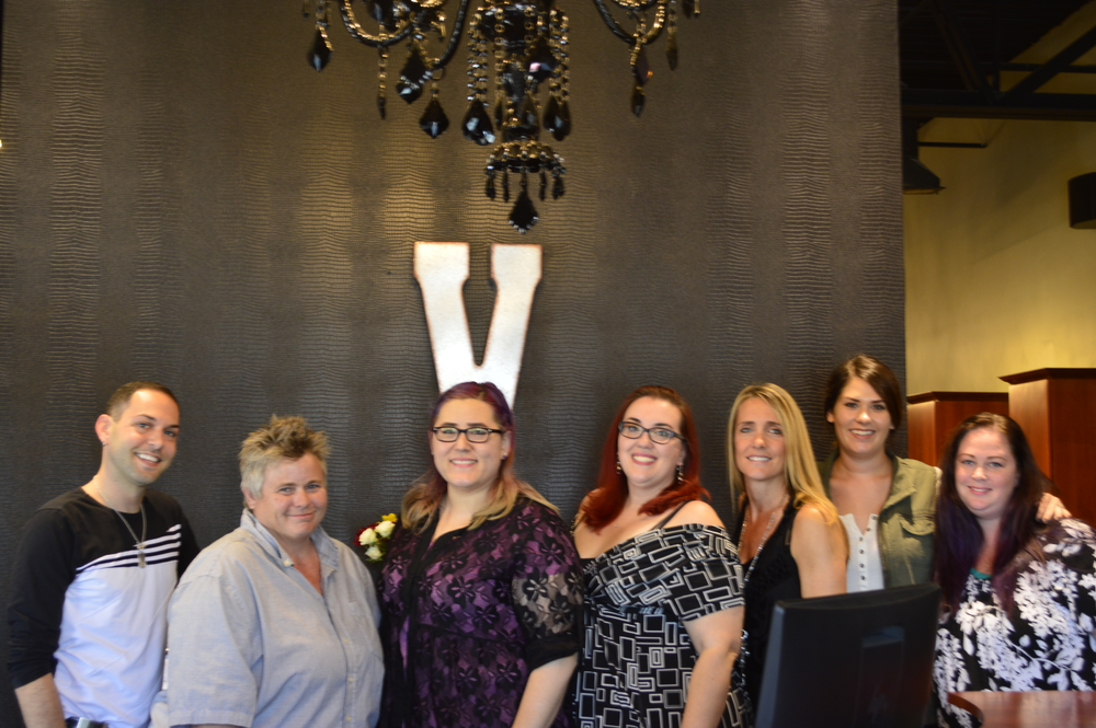 <p>The crew at Vibe Salon &amp; Day Spa in Omaha</p>