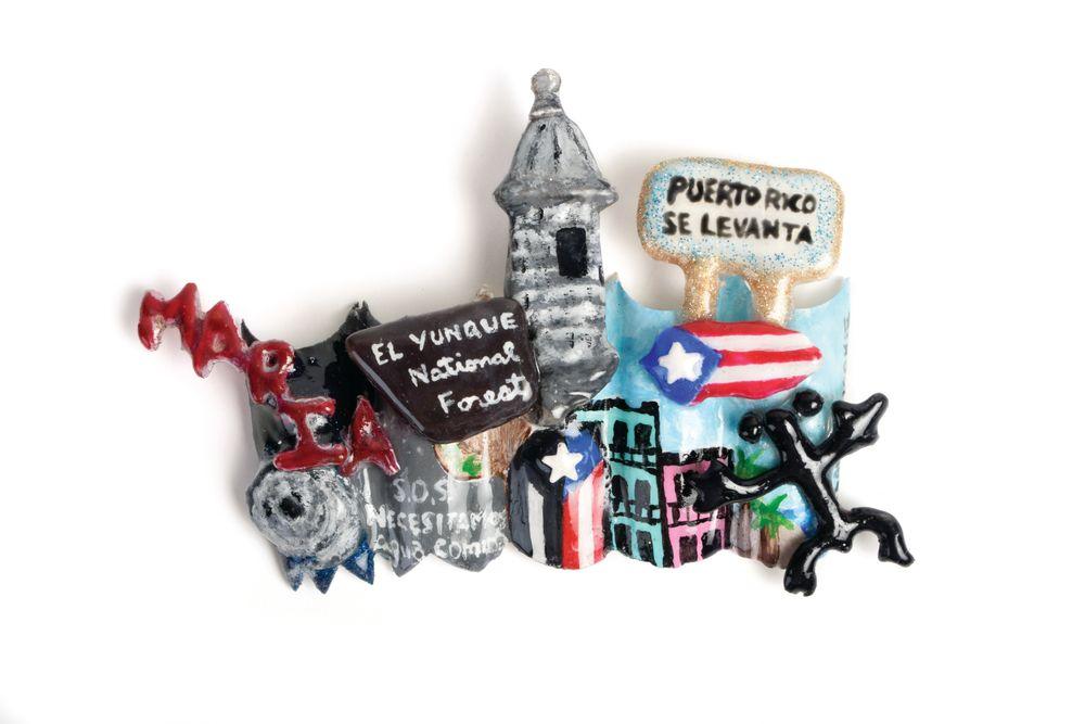 <p>Kristy Owens<br />Greenville, S.C. <br />Title: Puerto Rico Se Levanta</p>