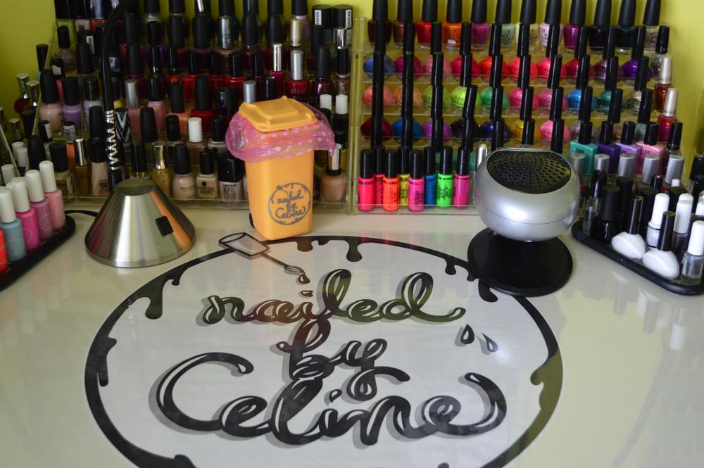 <p>Celine Cumming's studio in Middletown, Del.</p>