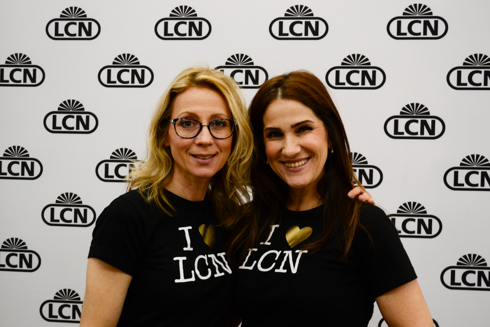 <p>LCN's Tina Gilbert and Susi Norfolk</p>