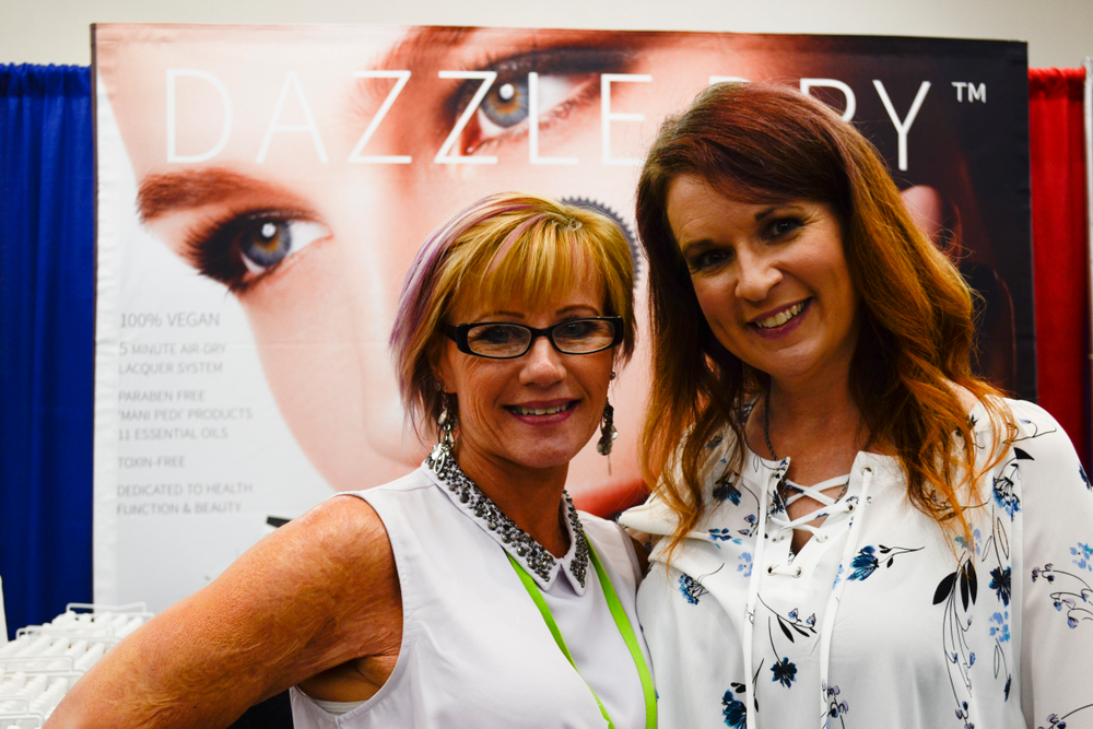 <p>Lor Ducharme and NinaDawn Patton of Dazzle Dry</p>