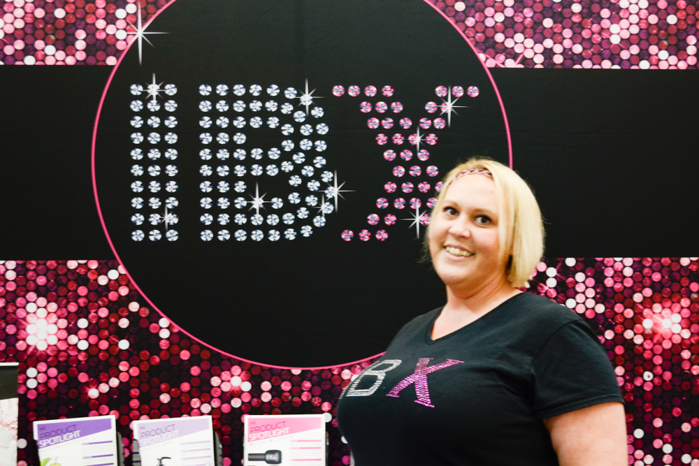 <p>IBX's Wendy Weed demoed Boost on the show floor</p>