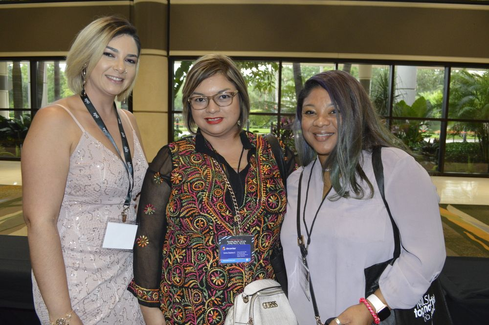 <p>Brovy McClelland, Wendy Valenzuela, and Syreeta Aaron</p>