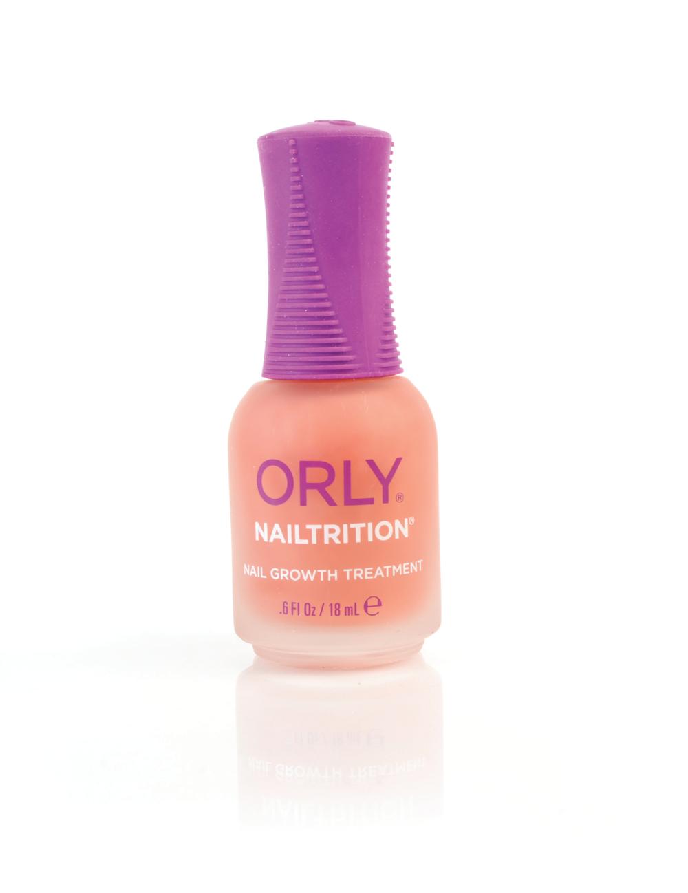 "<p>Orly Nailtrition Nail Growth Treatment<br /><a href=""http://www.orlybeauty.com"">www.orlybeauty.com</a></p>"