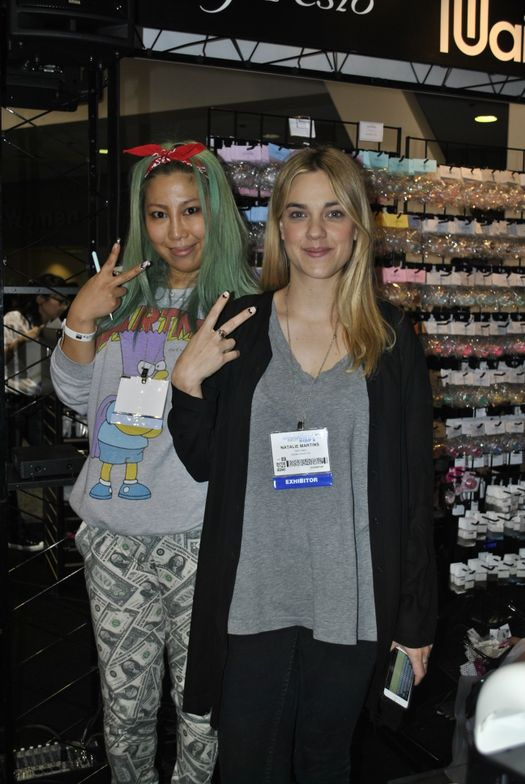 <p>Nothing but nail swag from Britney Tokyo and Natalie Minerva.</p>