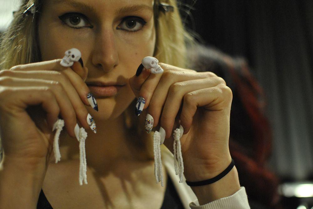 <p>Complete nail look at Libertine.&nbsp;</p>