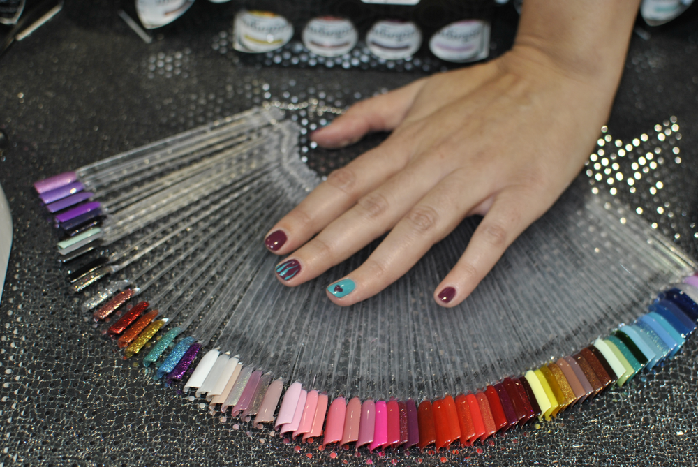 <p>A look at all of Indie Girl's gel-polish colors.</p>