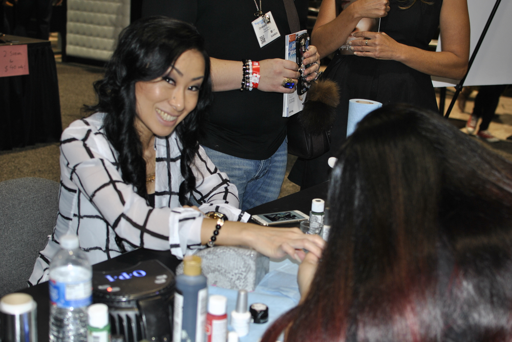 <p>Ryoko Garcia gets polished by Lexi Martone.&nbsp;</p>