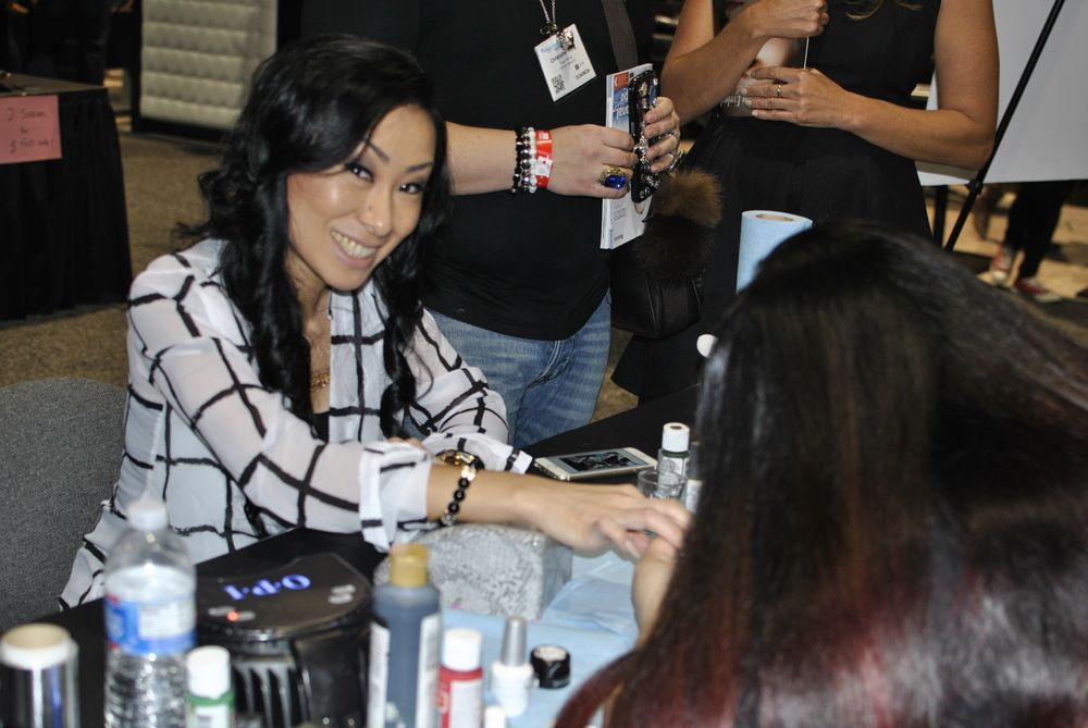 <p>Ryoko Garcia gets polished by Lexi Martone.&nbsp;</p>