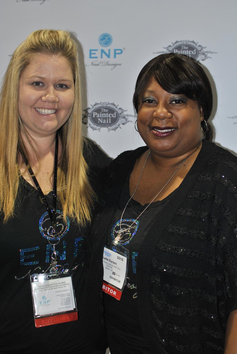 <p>ENP's duo Christine Ozeretny and Leila Durant</p>