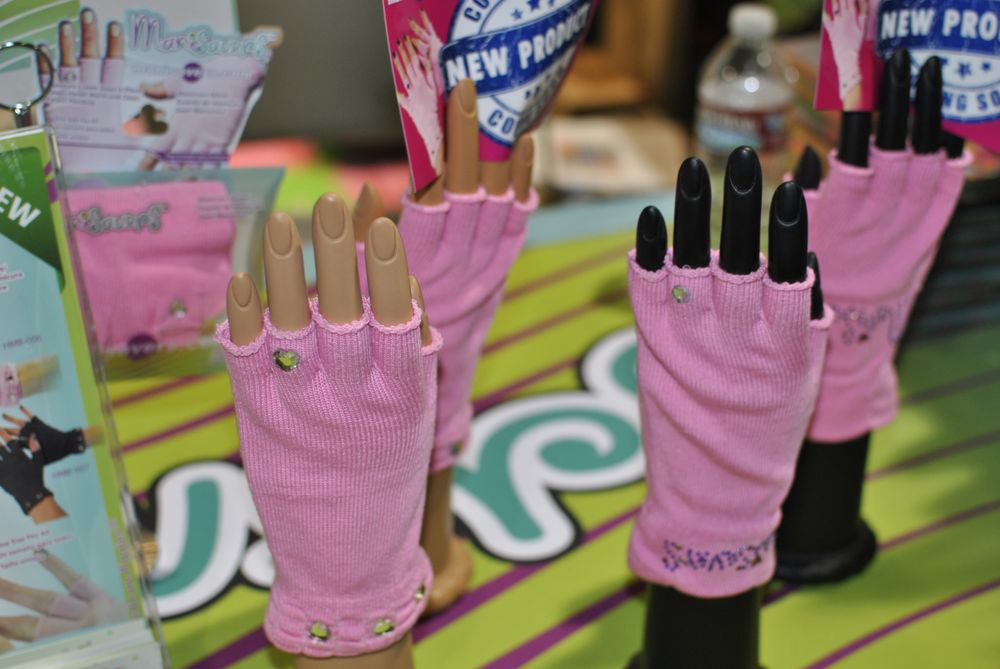 <p>Blinged out Mani Savers, the new counterpart to Pedi Savers</p>