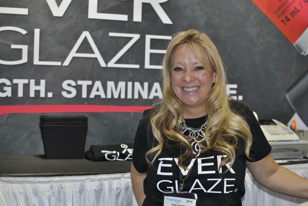 <p>Vicki Ornellas celebrates the launch of EverGlaze, the new long-lasting polish from China Glaze.</p>