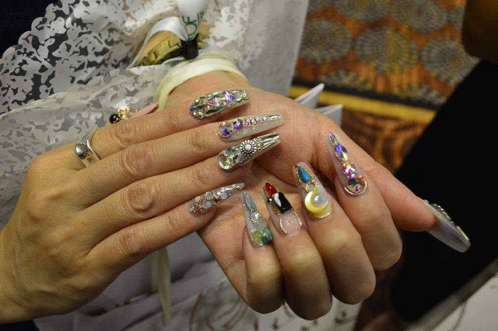 <p>Nails by Ann Chang of Kupa.</p>