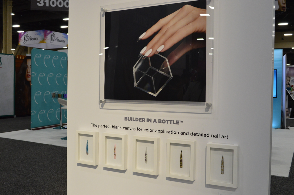 <p>Orly debuted Builder in a Bottle at the show. </p>