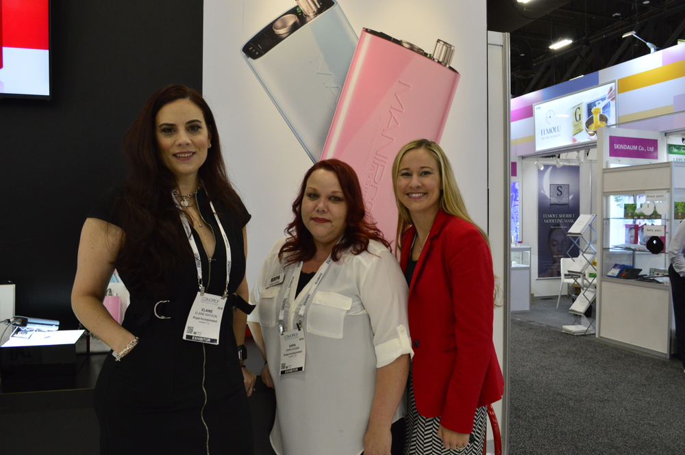 <p>Team Kupa: Elaine Watson, Sara Kuzma, and Rachael Wilson.</p>