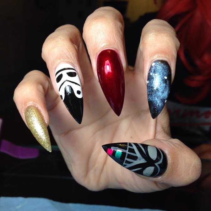"""<p>Nails by <a href=""""https://instagram.com/gee_fritz"""">@gee_fritz</a></p>"""