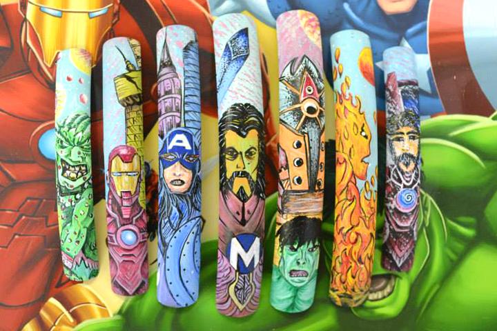 "<p>Avengers nail art by <a href=""http://www.thenailzspa.com"">David Hoang</a>, Orlando Fla.</p>"