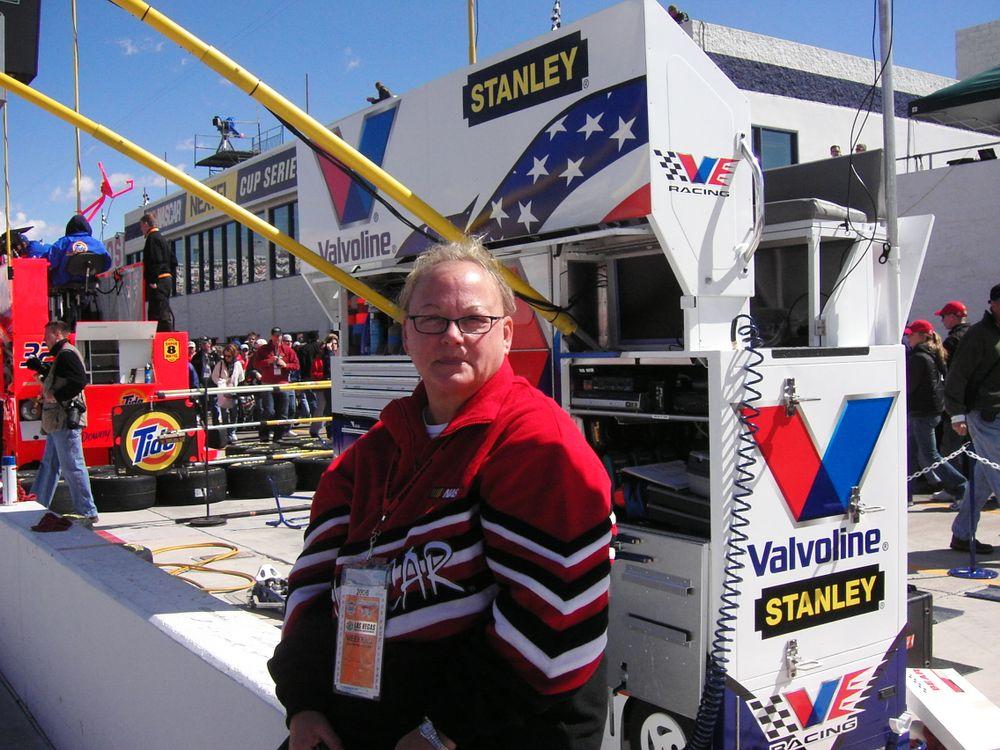 <p>Las Vegas Motor Speedway, 2005</p>