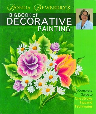 <p><em>Donna Dewberry's Big Book of Decorative Painting</em> by Donna Dewberry <br /> The eight nail art step-by-steps should be helpful to nail artists, but the book&rsquo;s biggest strength lies in its basic introduction to One-Stroke painting. Dewberry shows step-by-step examples of how to create common flowers, leaves, and vines, and how to put all of these components together into a cohesive design.</p>