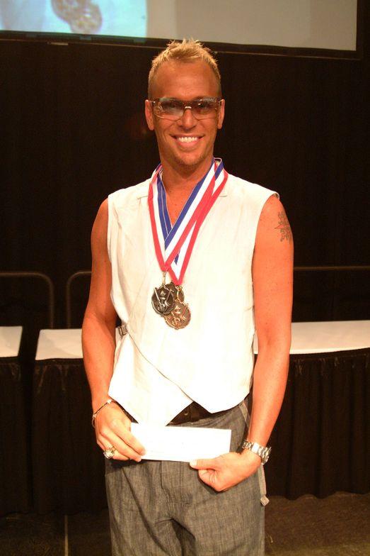 <p>Tom won overall grand champion at the Nailympics.</p>