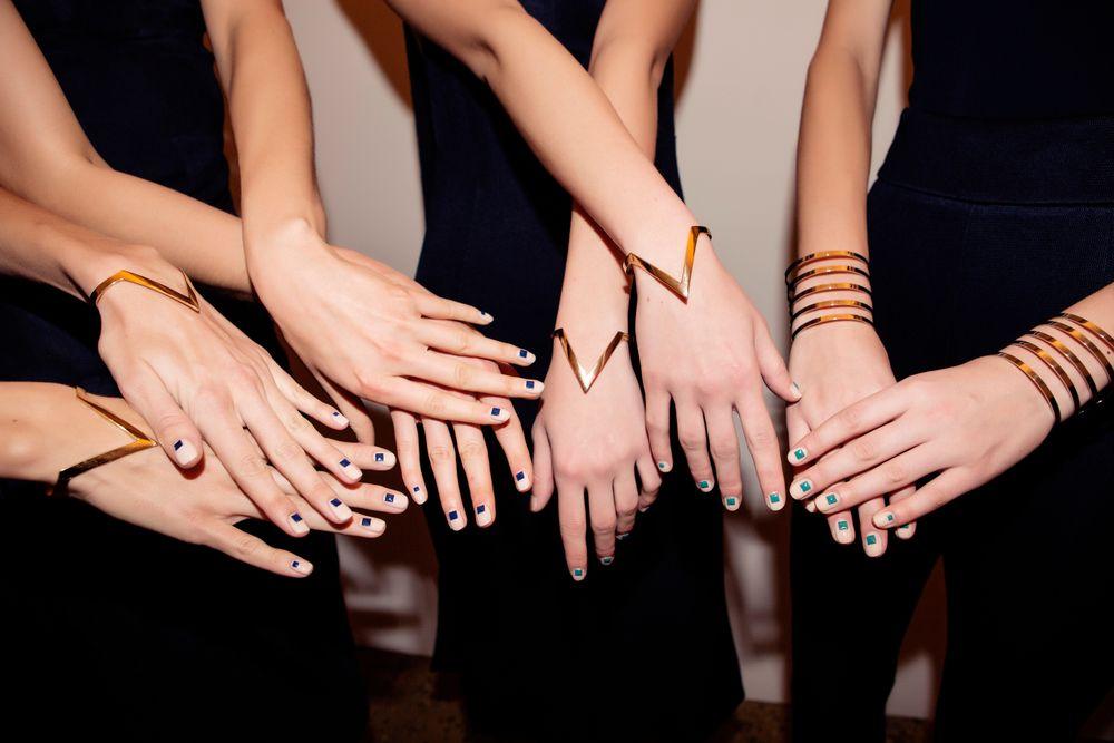 <p>Christian Louboutin Nail Colour for Cushnie Et Ochs. Photographs courtesy of Taylor Jewell</p>