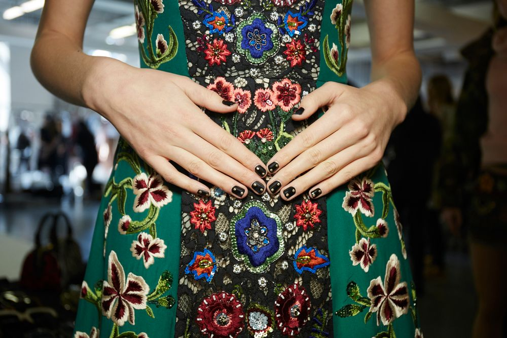 <p>Essie for Alice + Olivia. <strong>PHOTO CREDIT: Sam Kimfor essie</strong></p>
