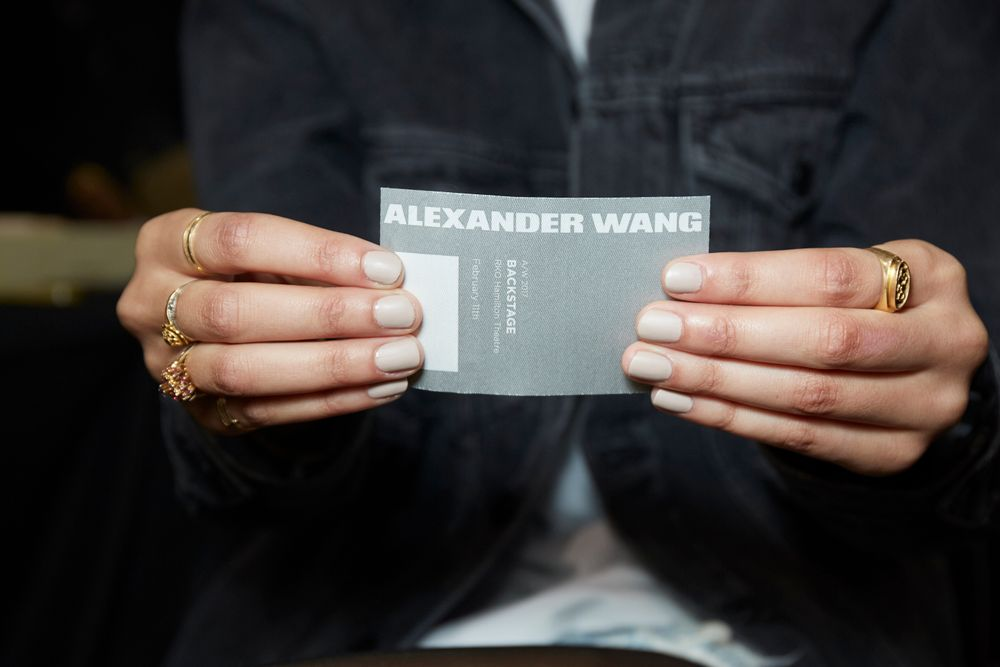 <p>Essie for Alexander Wang. <strong>PHOTO CREDIT: Sam Kimfor essie</strong></p>