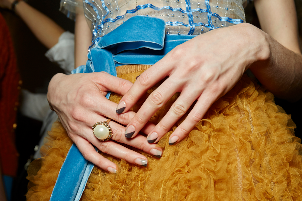 <p>Essie for Jenny Packham. <strong>PHOTO CREDIT: Sam Kim for essie</strong></p>
