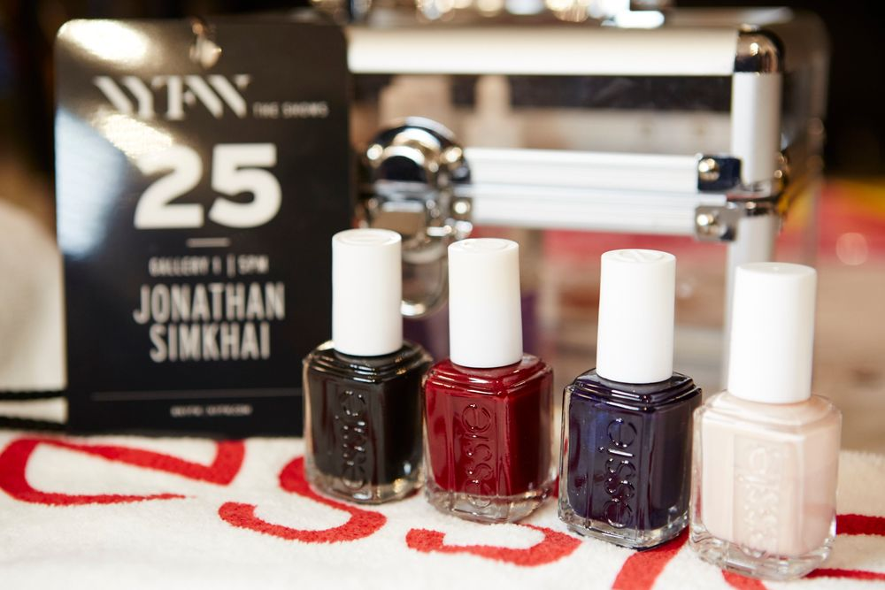 <p>Essie for Joanthan Simkhai. <strong>PHOTO CREDIT: Jonathan Pozniakfor essie</strong></p>