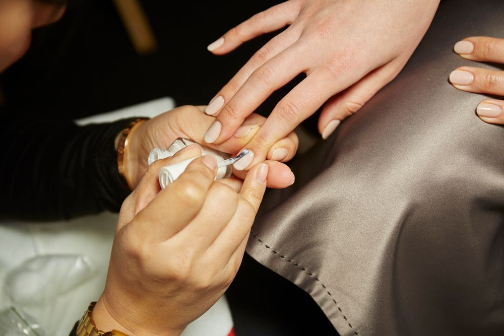 <p>Essie for Michael Costello. <strong>PHOTO CREDIT: Sam Kimfor essie</strong></p>