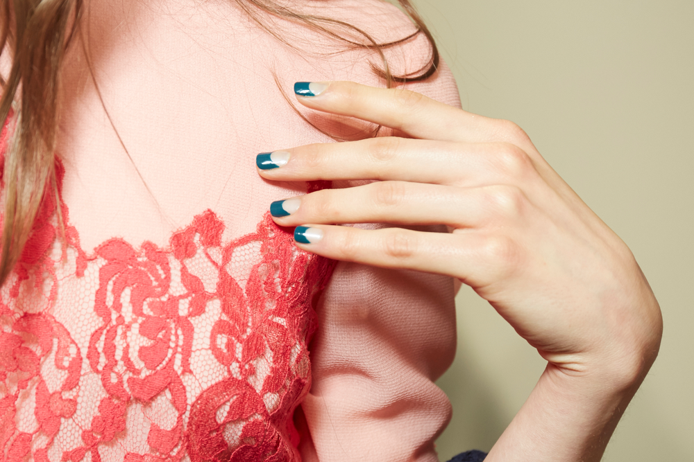 <p>Essie for Tanya Taylor. <strong>PHOTO CREDIT: Sam Kim for essie</strong></p>