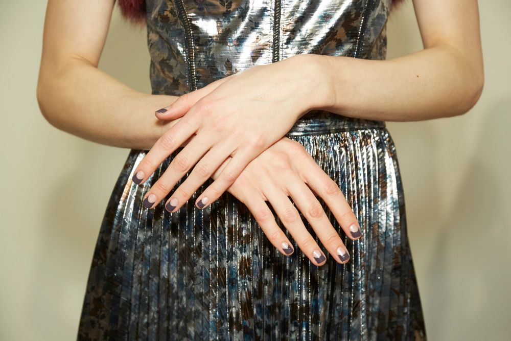 <p>Essie for Tanya Taylor. <strong>PHOTO CREDIT: Sam Kimfor essie</strong></p>