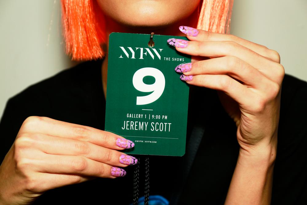 <p>Essie for Jeremy Scott. (Courtesy of Essie).</p>