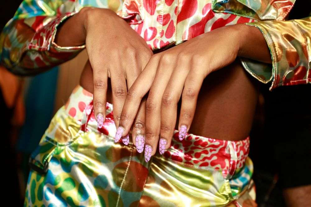 <p>Essie for Jeremy Scott. (Courtesy of Essie).</p>