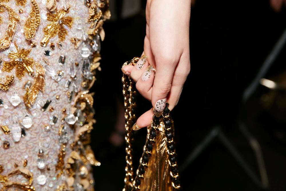 <p>Essie for Moschino, courtesy of Essie</p>