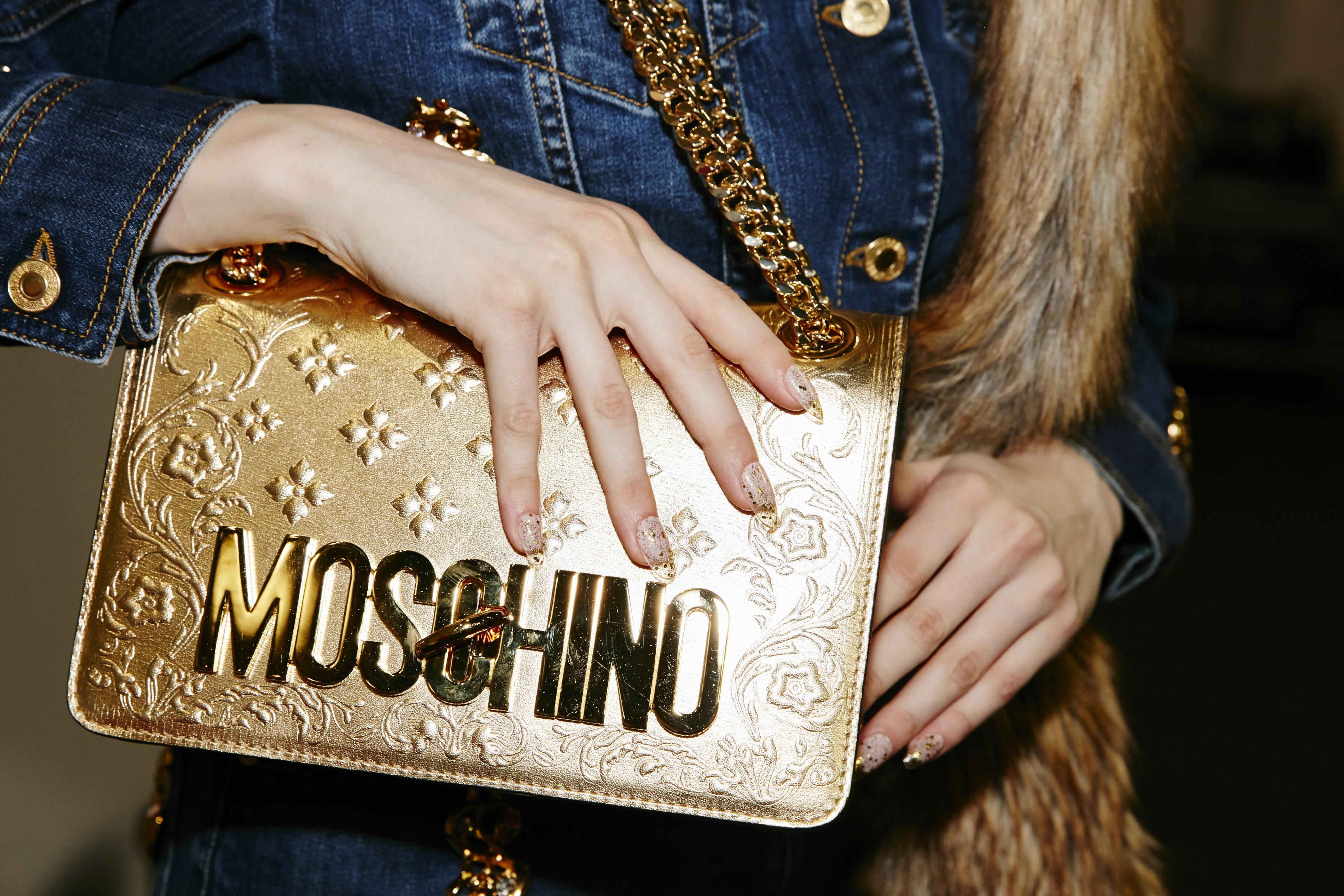 <p>Essie for Moschino, courtesy of Essie</p>