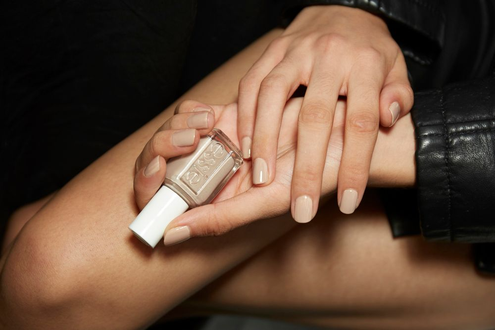 <p>Essie nudes used for Kith included Bare With Me, Wild Nude, Mixtaupe, and Ballet Slippers.</p>