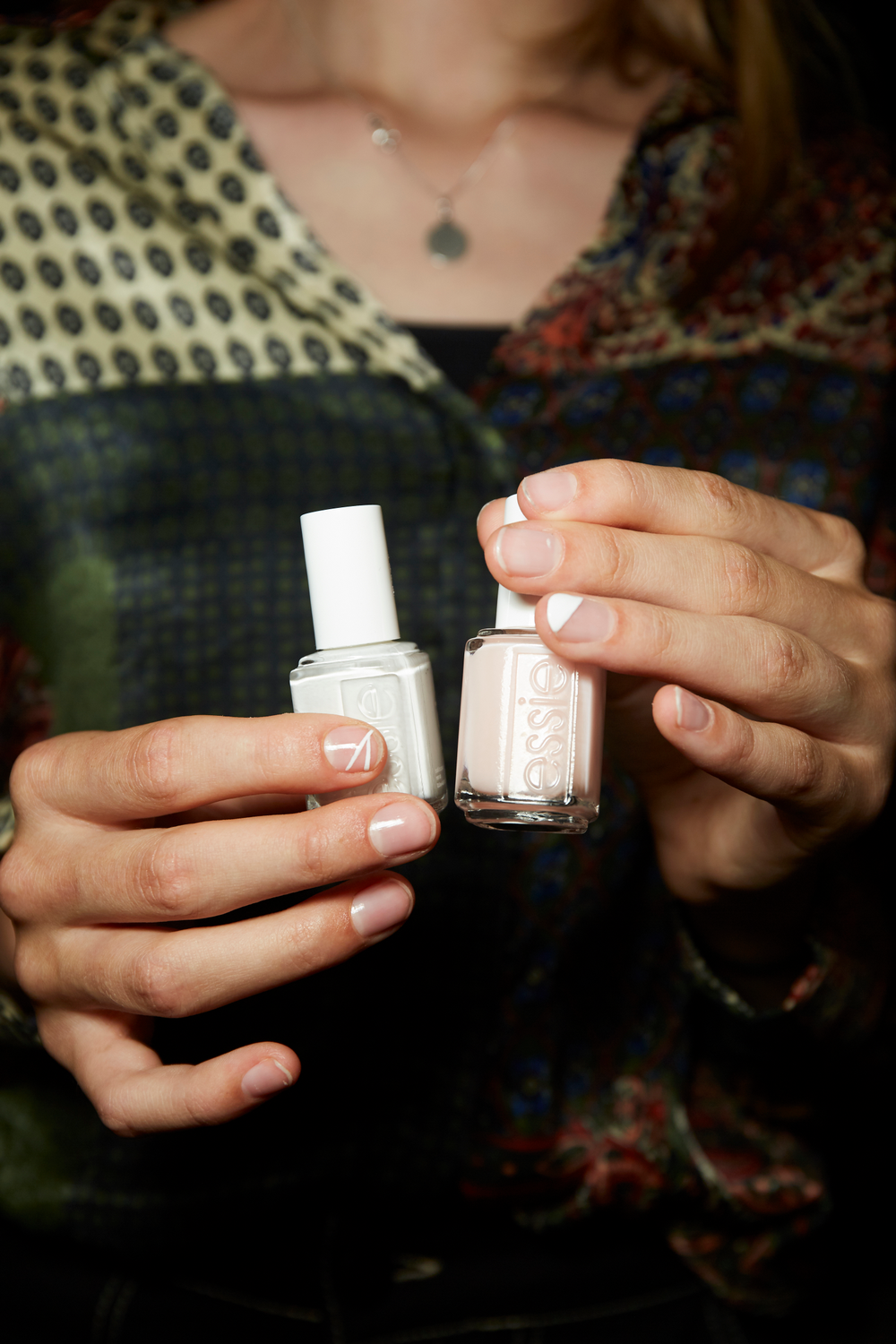 <p>Essie for Monse. Lead manicurist: Rita Remark</p>