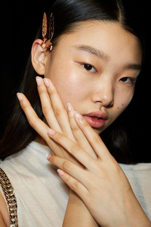 <p>Essie for Monse. Lead manicurist: Rita Remark</p>