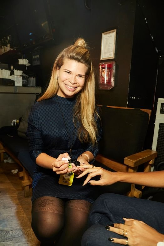<p>Julie Kandalec. Essie for Opening Ceremony</p>