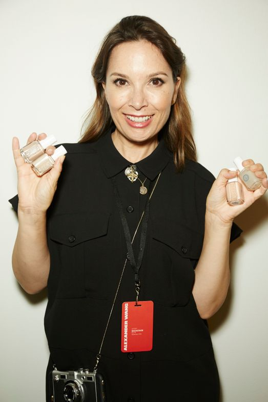 <p>Michelle Saunders, nail lead at Essie for Alexander Wang. PHOTO CREDIT: Sam Kim&nbsp;for essie</p>