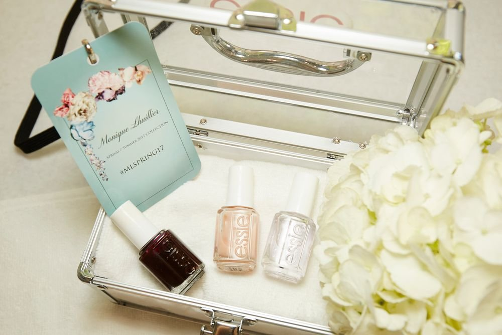 <p>Essie for Monique Lhuillier. <strong>PHOTO CREDIT: Sam Kim&nbsp;for essie</strong></p>