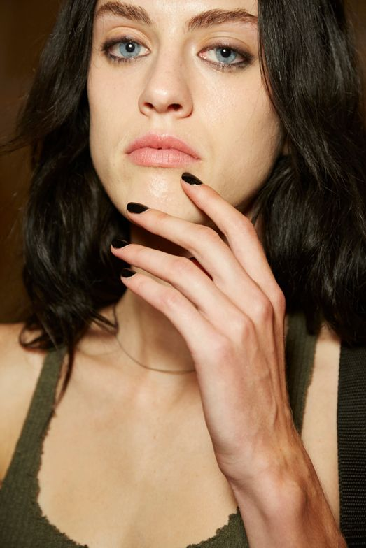 <p>Essie Licorice was also used throughout the Rag and Bone show. <strong>PHOTO CREDIT: Sam Kim&nbsp;for essie</strong></p>
